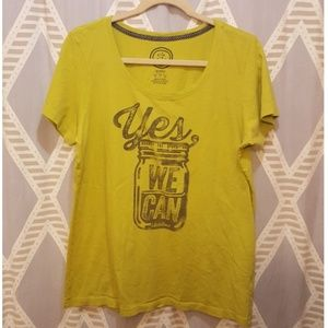 Life Is Good Tops - Life is Good Mason Jar T-shirt